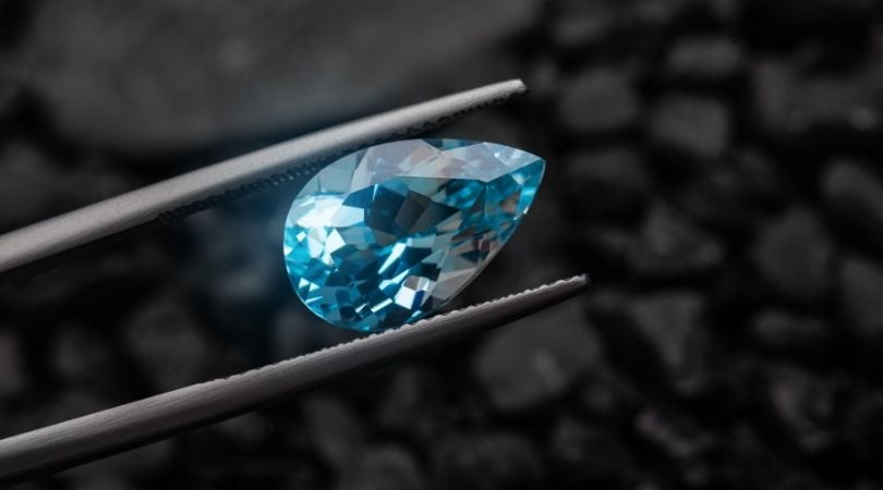 Schütze Blauer Saphir