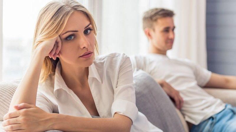 unglücklich in der Ehe