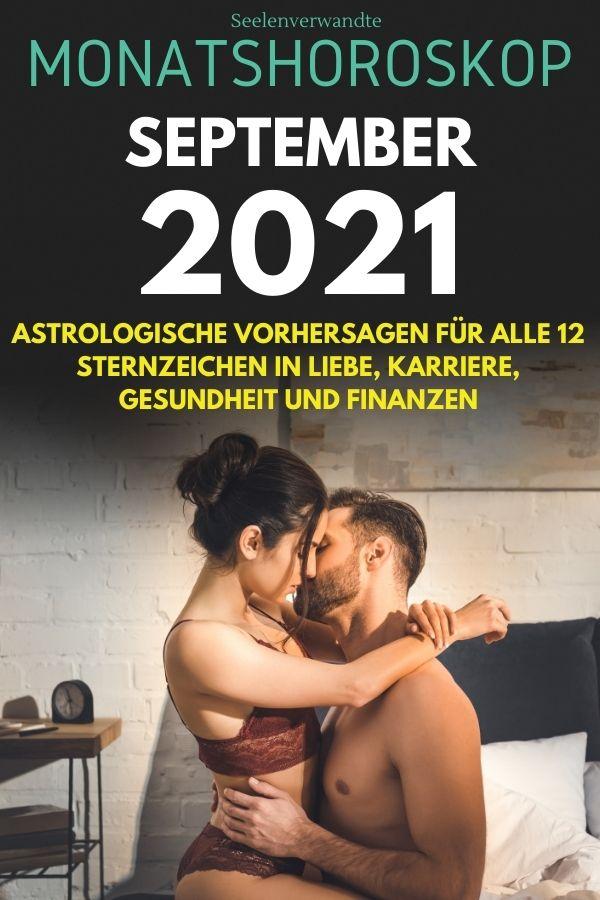 Monatshoroskop September 2021