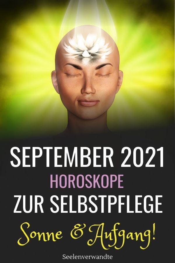September 2021 Horoskope zur Selbstpflege